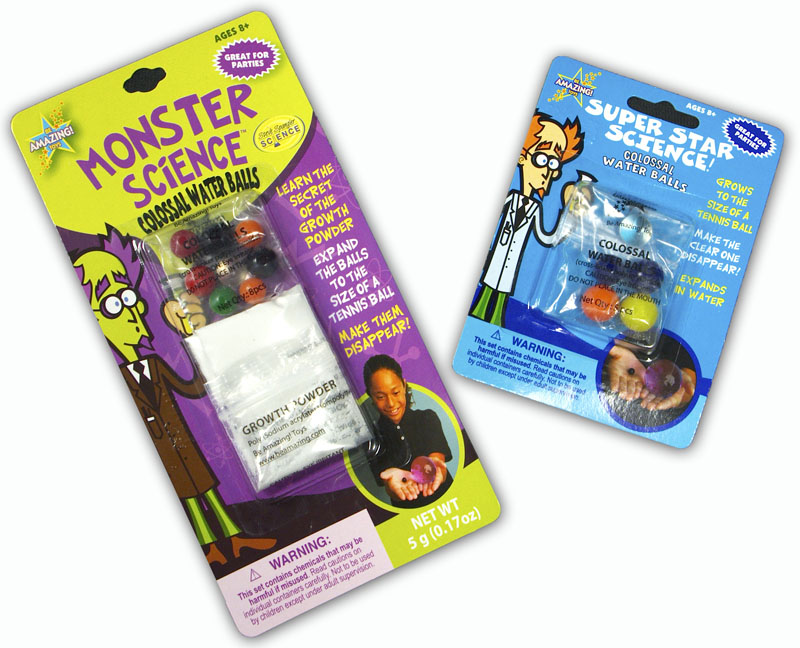 Monster Science Amp Super Star Science Water Balls Recall